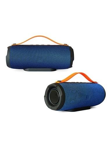 Platoon PL-4305 Bluetooth Speaker Fm/Sd/Usb Mavi